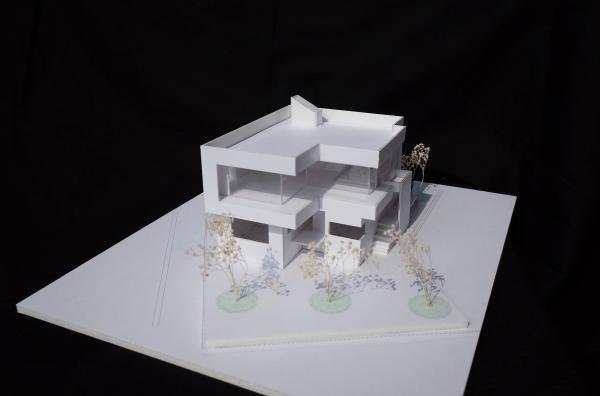 ゲストハウスの模型